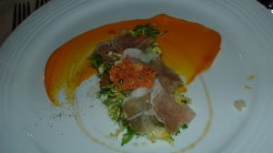 Kabocha Squash & Cured Coppa Salad