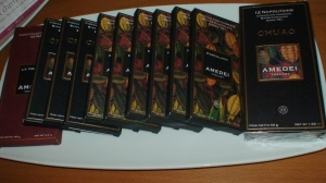 Amedei (my favorite chocolate bars)
