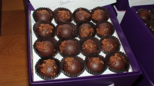 Vosges\' applewood smoked bacon truffles