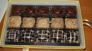 Rococo\'s chocolate ravioli