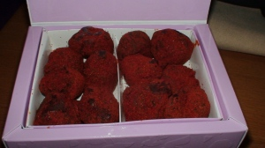 Vosges\' paprika-dusted truffles