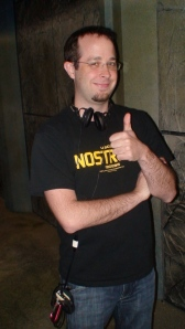 Director Marty G. gives the thumbs up