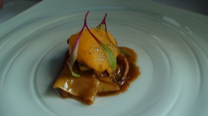 Baised rabbit pappardelle with porcini mushrooms and olive oil at Restaurant Bronte