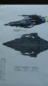 Alien fighter design - The Daedalus Variations