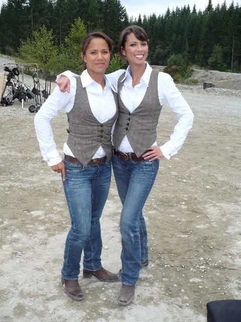 Lani and Lexa.
