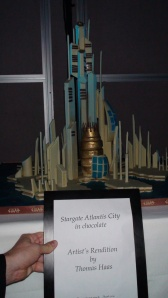 Atlantis in chocolate