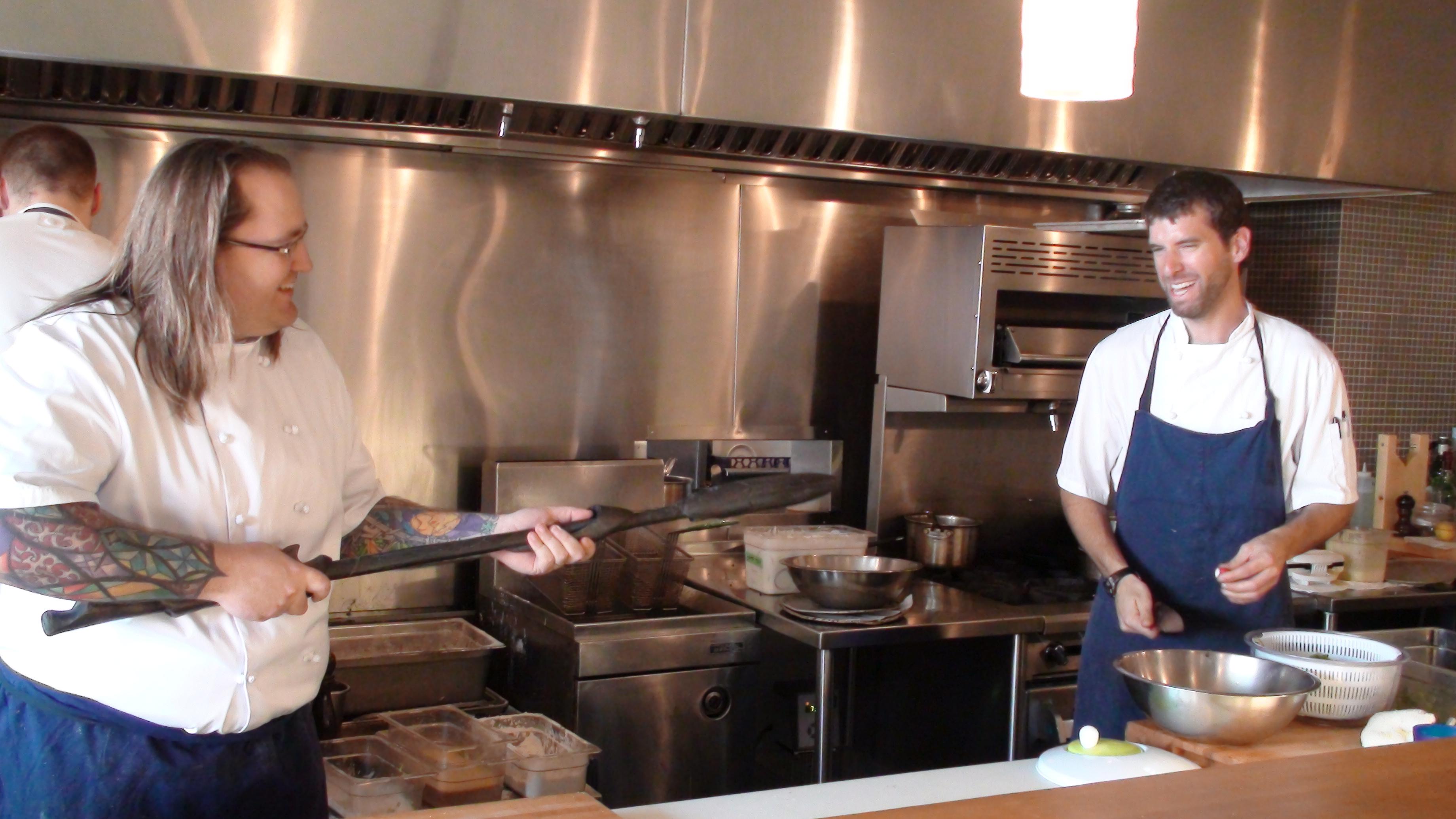 Chef Kitchen September 28 2008 Fuels Chef Rob Belcham Fills Us In On Kitchen