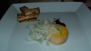 foie gras torchon, elixir vinegar, fennel salad