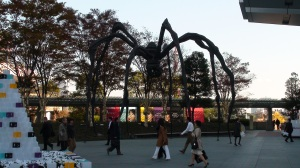 The famed Roppongi Hills giant spider