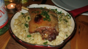 Duck confit mac and cheese