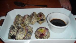 Foie gras maki