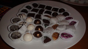 Wen Chocolates assorted truffles.