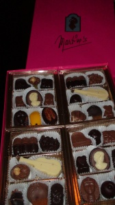 Martine's Chocolates 72 piece selection.