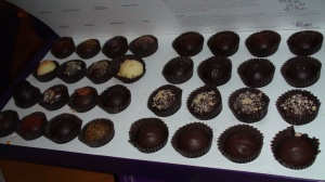 Vosges assorted truffles.