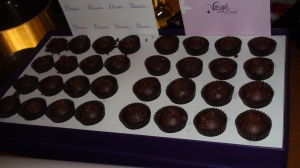 Vosges smoked applewood bacon truffles.