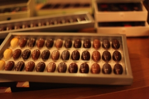 Oriol Balaguer chocolates (photo compliments of Lawren Bancroft-Wilson)