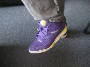Yep, they're purple alright.
