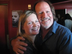 Director Andy Mikita and his better half, wife Candace.