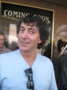 Actor Peter Kelamis (SGU's Adam Brody).  And rumored french bulldog owner.