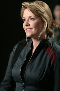 The lovely Amanda Tapping (Colonel Samantha Carter) - photo courtesy and copyright MGM Television
