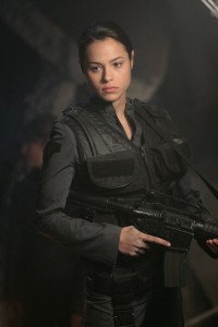 Captain Alicia Vega (Leela Savasta)
