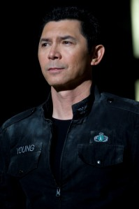 Lou Diamond Phillips - SGU's Colonel David Telford (photo courtesy and copyright MGM Television)