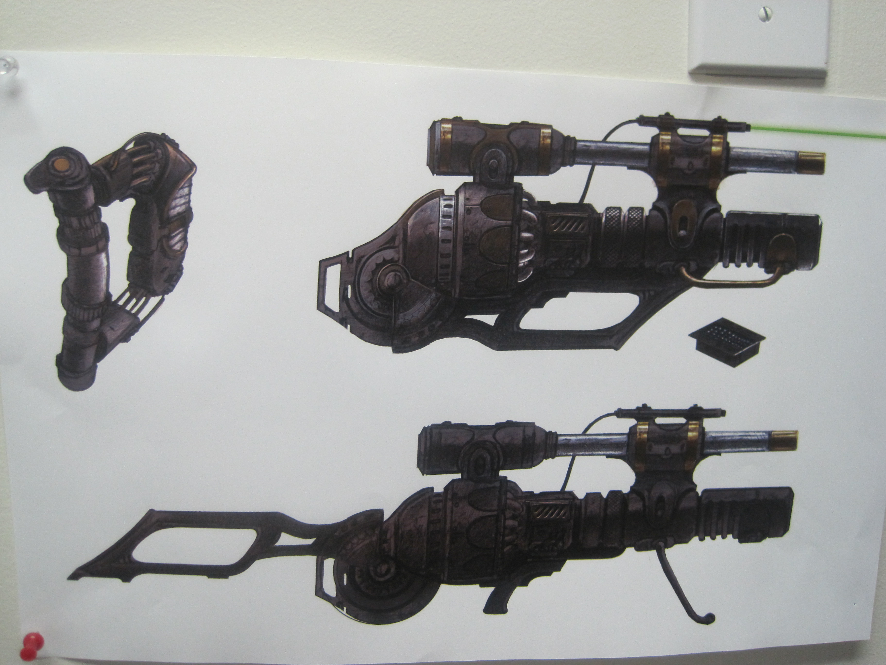 Ancient hand weapons finally?