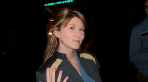The lovely Jewel Staite.