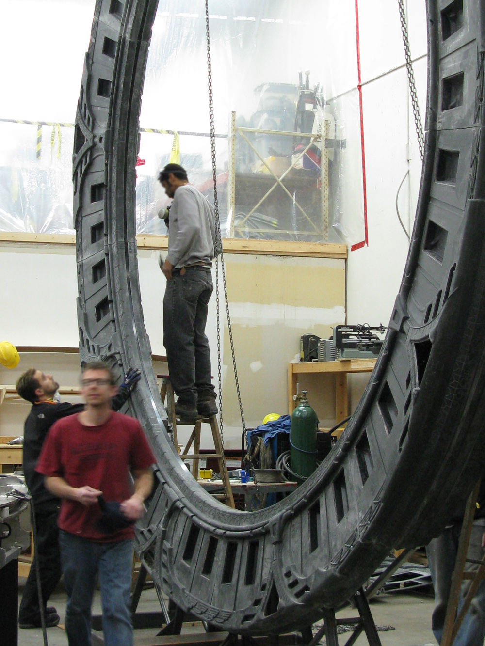 February 1 2013 Stargate Prop Builder Mark Nicholson