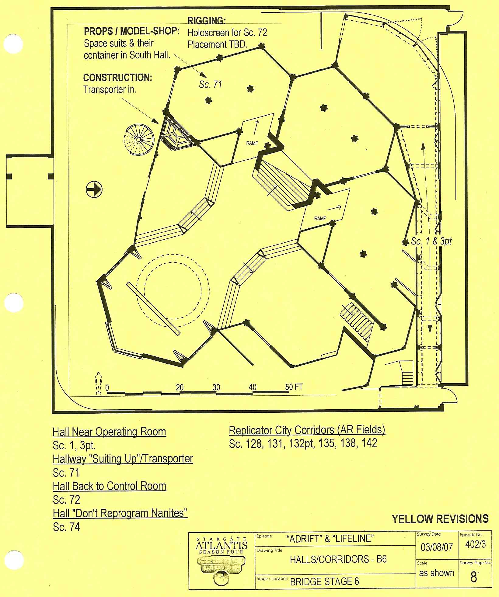 March 26 2013 you asked for it atlantis floor plans the control atlantis halls corridors malvernweather Images