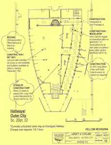 Hallways - outer city