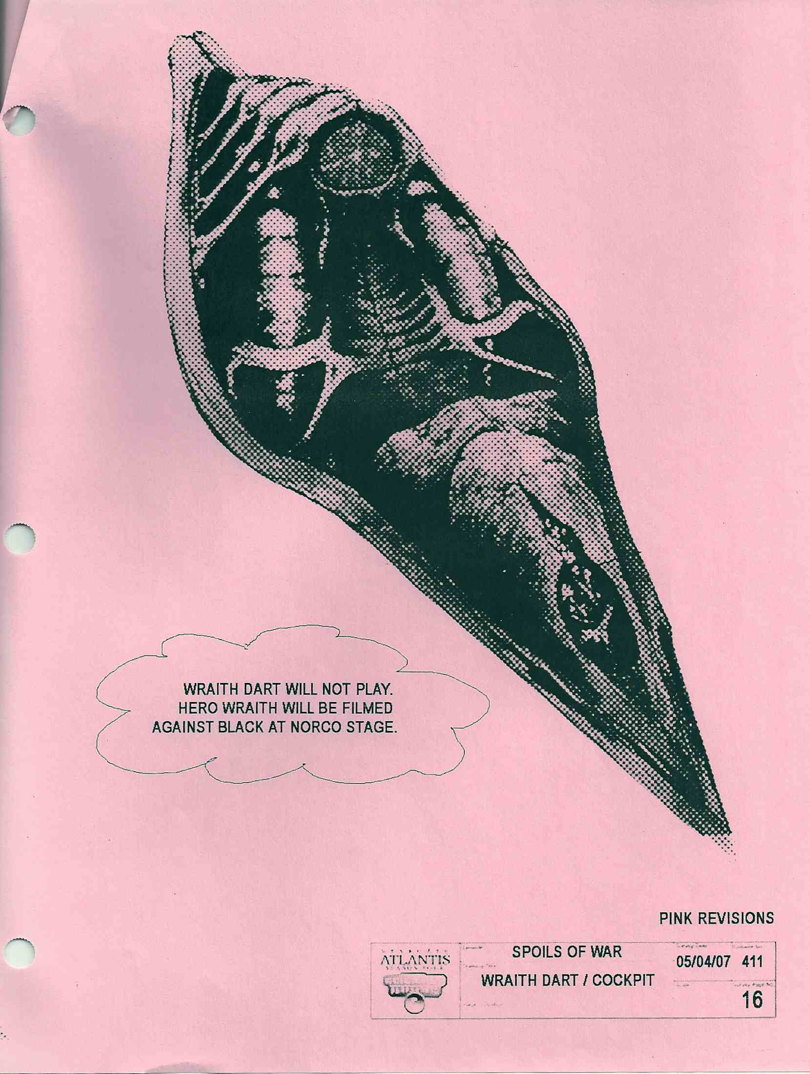 wraith « Joseph Mallozzi\'s Weblog