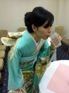 Watch the kimono!