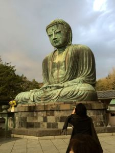 The giant bronze Buddha