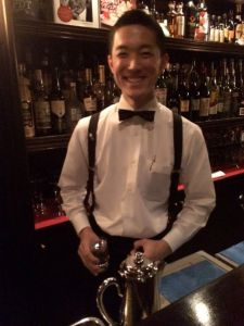 Rounding out the crew is Yoshida-san who recommended a terrific bourbon: Rowan's Creek.