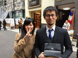 Akemi and Nihei, our affable host