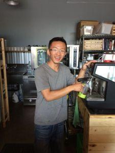 Daniel Wong = proprietor, creme brûlée master.