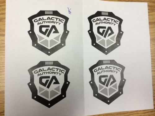 Choices for the GA (Galactic  Authority) emblem