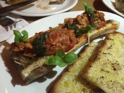 Smoked bone marrow, lampredotto, agliata
