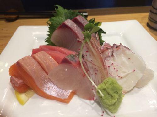 Sashimi at Sushi Kaji