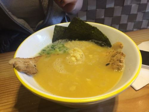 Akemi's excellent chicken ramen at Kinto Ramen.