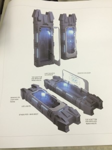 The stasis pods