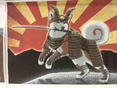 Episode 9: Samurai dog!