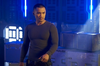 "DARK MATTER -- ""Episode Thirteen"" Episode 113 -- Pictured: Alex Mallari Jr. as Four -- (Photo by: Steve Wilkie/Prodigy Pictures/Syfy)"