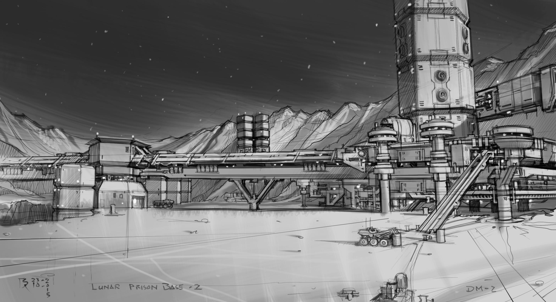 moon base concept art - photo #9