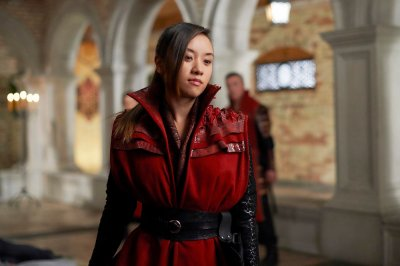 "DARK MATTER -- ""Sometimes In Life You Don't Get to Choose"" Episode 212 -- Pictured: Ellen Wong as Misaki Han-Shireikan -- (Photo by: Russ Martin/Prodigy Pictures/Syfy)"