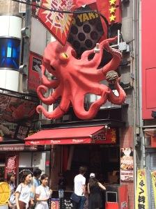 Tako-yaki restaurant.